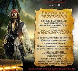 """Sygma Bank zaprasza na film """"Piraci z Karaibów. Na nieznanych wodach"""" i organizuje konkurs związany z premierą filmu"""