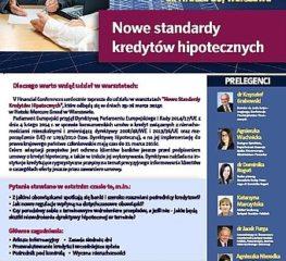 """Warsztaty """"Nowe Standardy Kredytów Hipotecznych"""""""