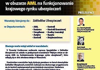 """Warsztaty """"Wpływ zmian w obszarze AML na funkcjonowanie krajowego rynku ubezpieczeń"""""""